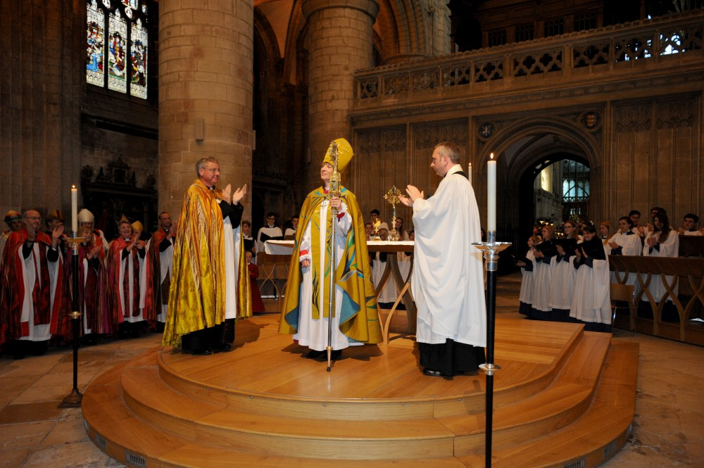 Bishop Rachel welcomed to Diocese