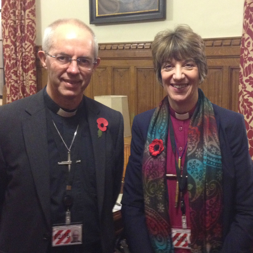 Archbishop Justin and Bishop Rachel