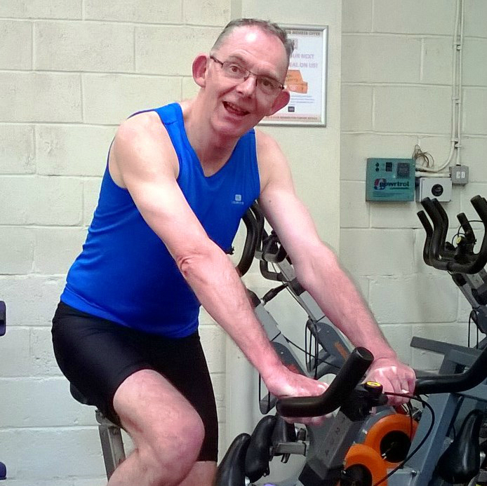 Donate your cash to keep the vicar on his bike