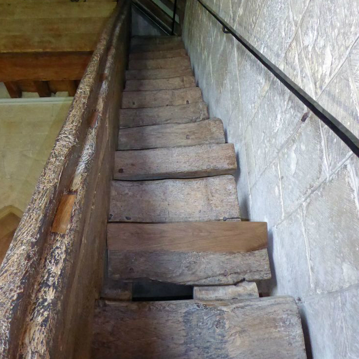 Staircase after restoration