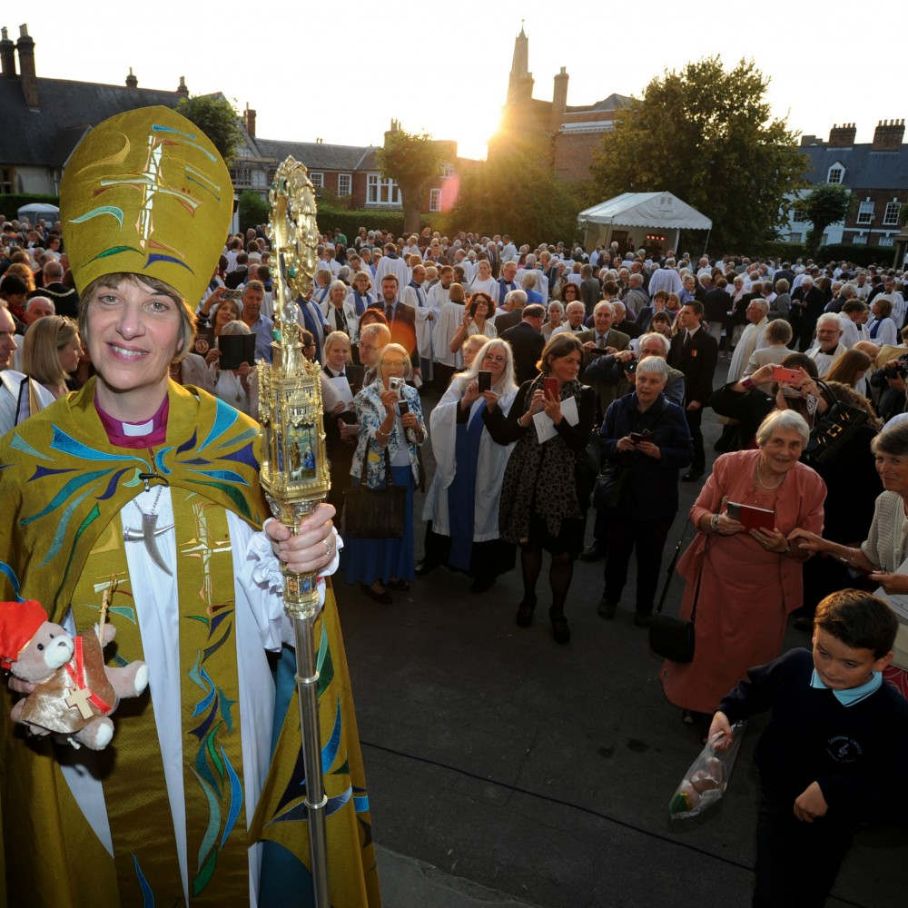Bishop Rachel celebrates a year in Gloucester