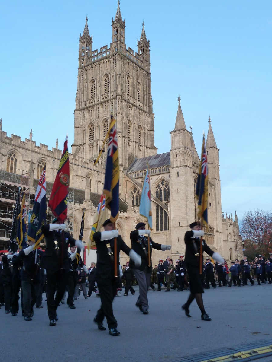 Gloucester Remembrance March