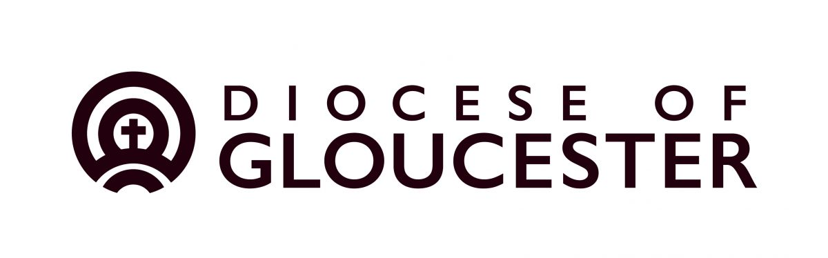 Diocese logo black and white