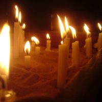 Prayer candles CC licence