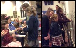 Children's Messy Admission to Communion