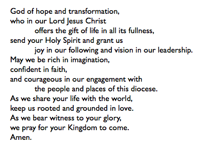 Life prayer God of Hope and Transformation