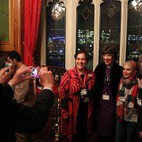 Loretta Mingella with Bishop Rachel