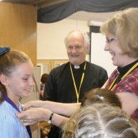 Children at Hardwicke Parochial School awarded gold medals