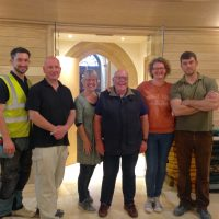 Doors to open on refitted Bourton church