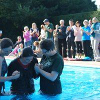 LIDO, Pool Baptism