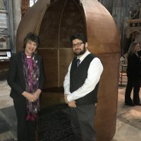 Bishop Rachel launches exhibition during Prisons Week