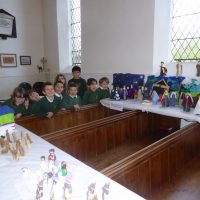 Bisley Benefice Crib Exhibition, St Bartholomew's Oakridge