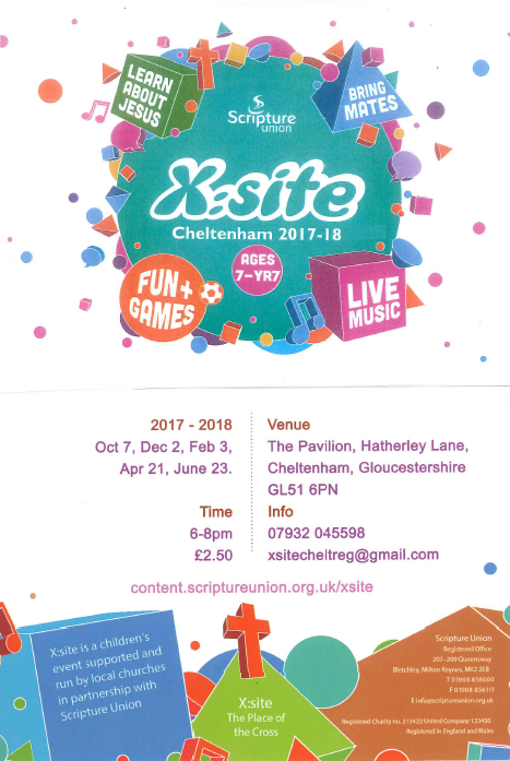 Children's Event, X:site Cheltenham