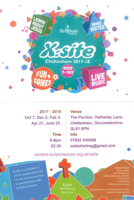 Children's Event, X:site Cheltenham