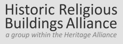 Historic Religious Buildings Alliance (HRBA) announcement