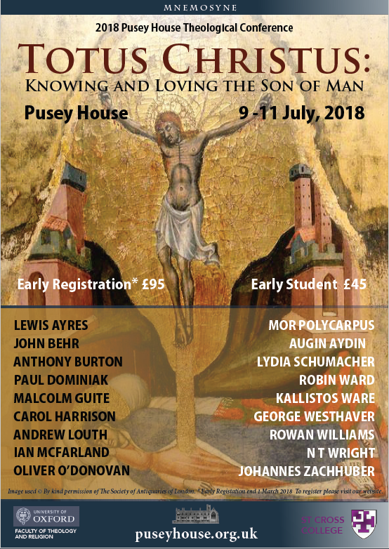 Theological Conference, Pusey House Oxford