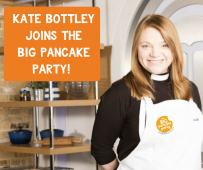 Kate Bottley is joining churches to tackle food poverty with Pancake Parties