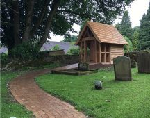 Grant aid for parish churches to have wildlife gardens