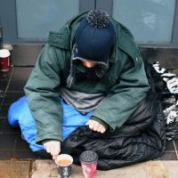 Opening doors to the homeless in cold weather