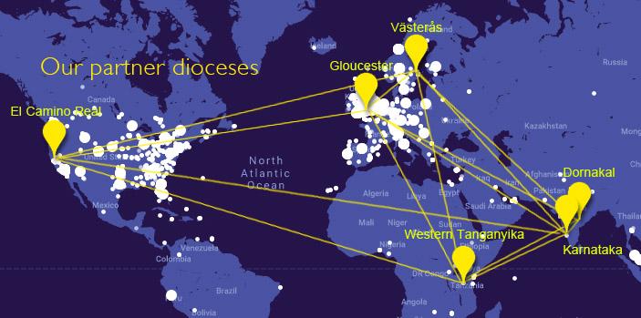 Thy Kingdom Come map around the world prayer