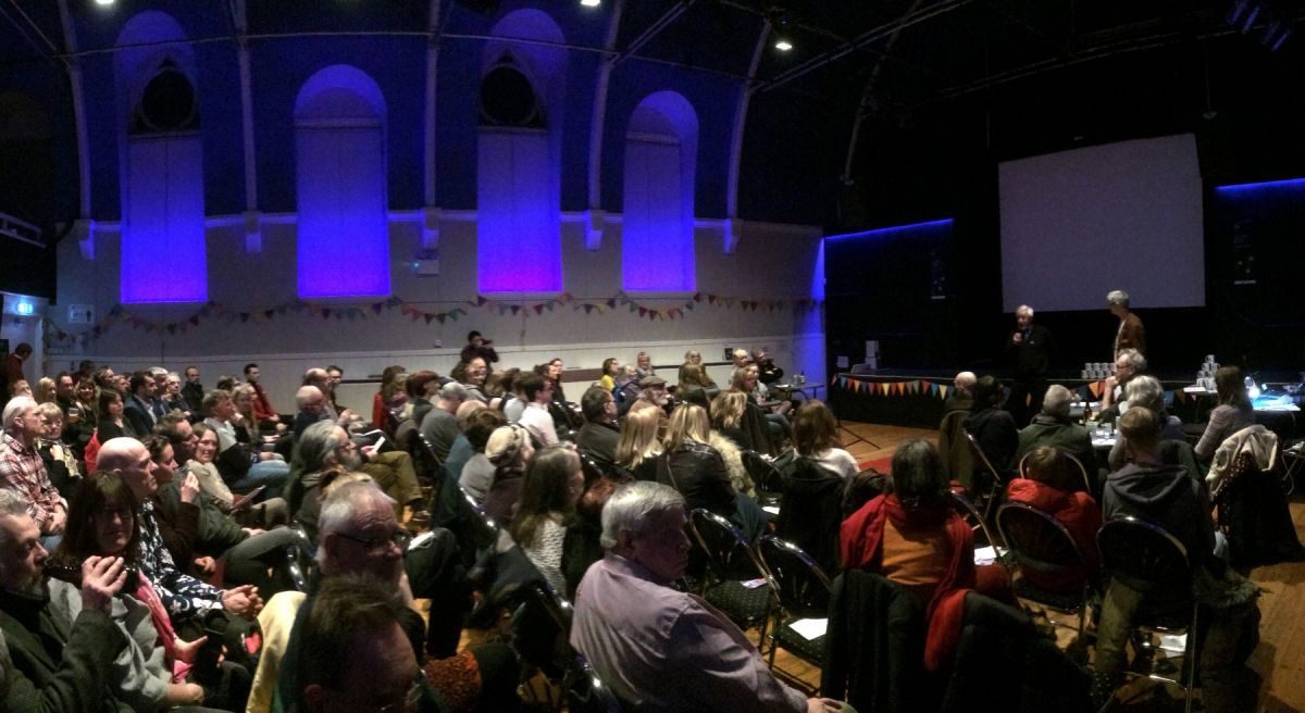 Stroud community tv awards film festival