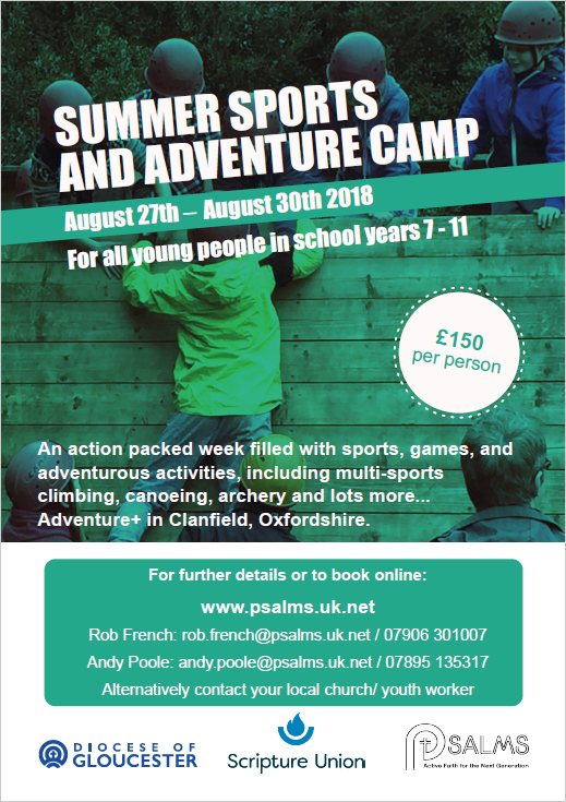 Cancelled – Summer Sports and Adventure Camp