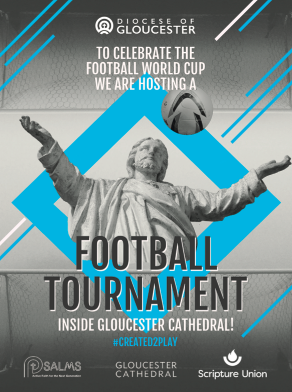 Football in the Cathedral – sign up today!