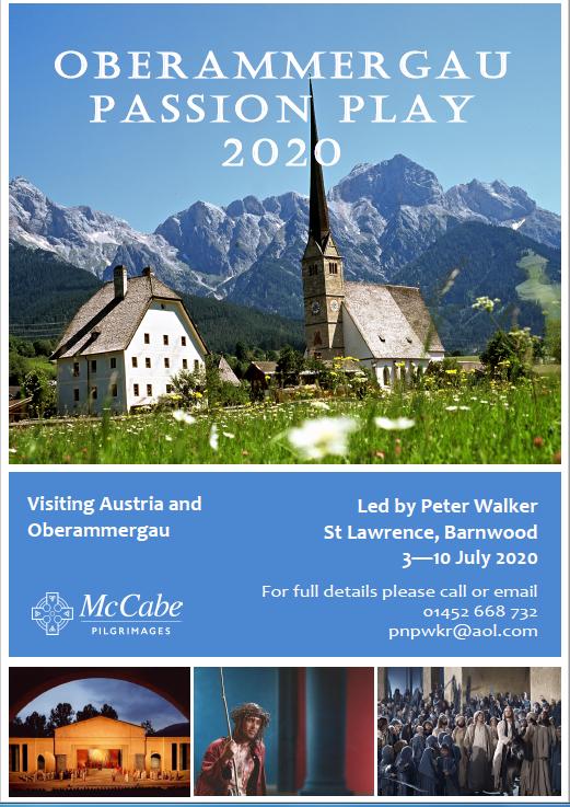Austria and Oberammergau holiday