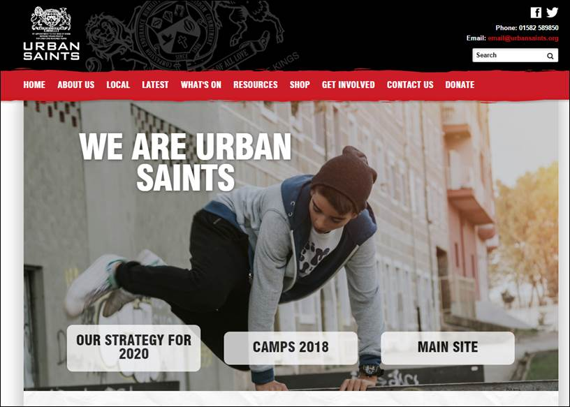 Urban Saints Tour: Disciples making disciples – Grow your faith and help others do the same
