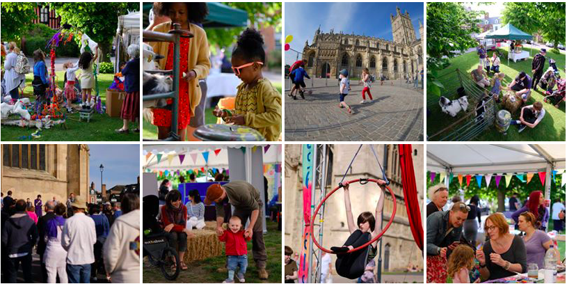 FestivALL photo grid Gloucestershire