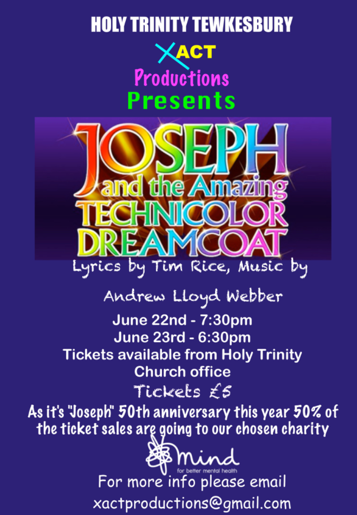 Joseph and the Amazing Technicolor Dreamcoat – Xact Drama Group