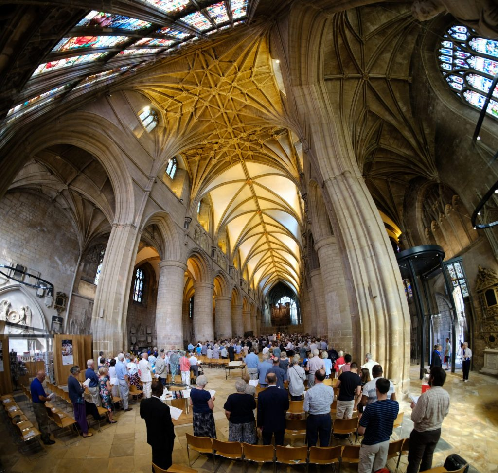 Panorama cathedral nave ordinations 2018