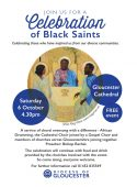Celebration of Black Saints at Gloucester Cathedral