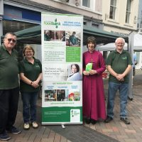 Bishop Rachel supports food bank petition