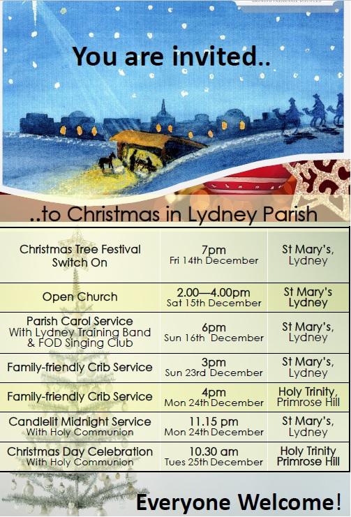 Christmas Day Celebration in Lydney