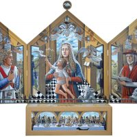 Artist PJ Crook to unveil new altarpiece for Cheltenham Church