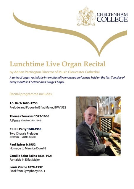 Lunchtime Organ Recital