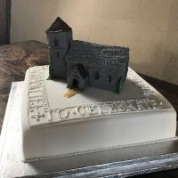 Church CAKE! Best architectural cake ever