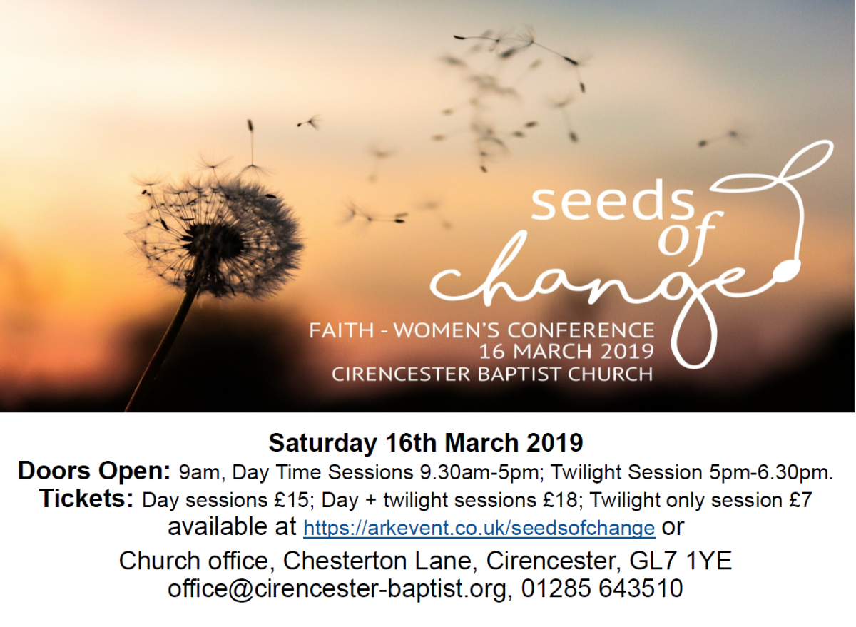Seeds of Change Women's Conference