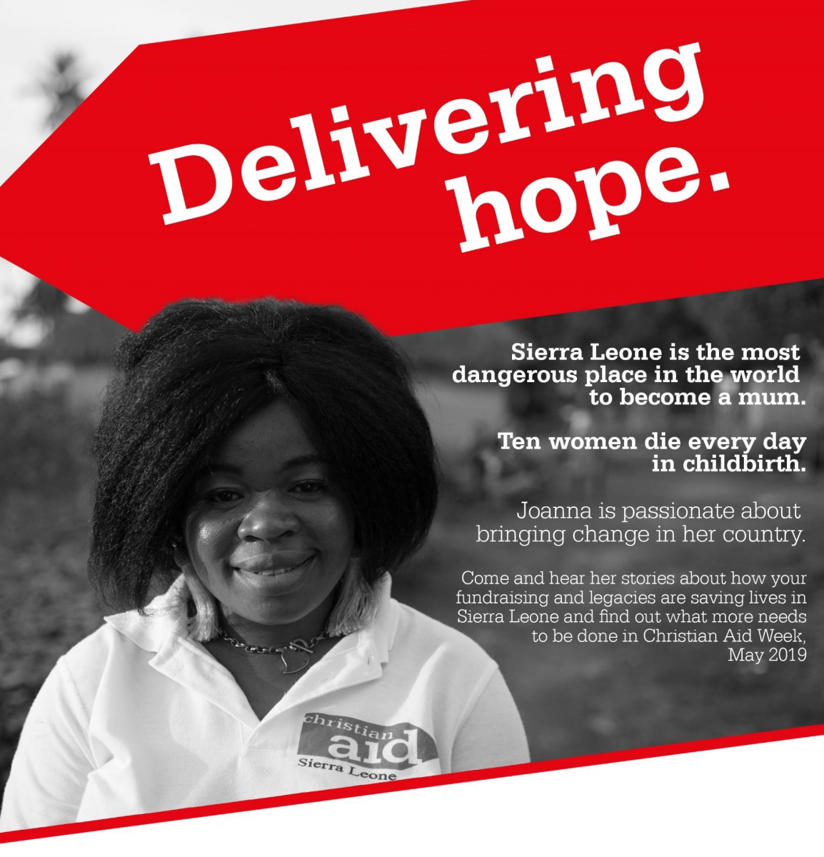 Christian Aid Visitor Tour from Sierra Leone
