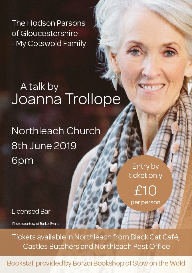 The Hodson Parsons of Gloucestershire – My Cotswold Family: A talk by Joanna Trollope