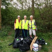 Cirencester Mothers' Union join the GB Spring Clean