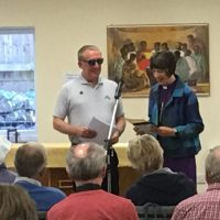 Centre for Mission in Matson, radio interview with lead evangelist Andy Wilson