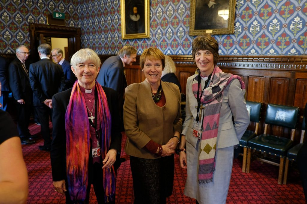 Bishop Rachel of Gloucester, Bishop Christine of Newcastle