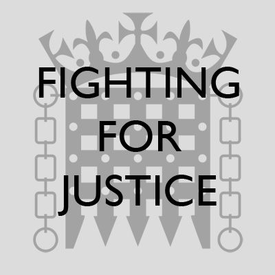 Our national prison reform campaign, Fighting for justice