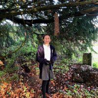 Coberley children encourage churchyard wildlife