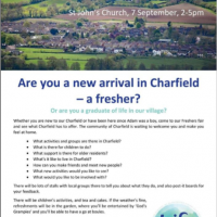 Charfield Freshers' Fair – by Rick Williams