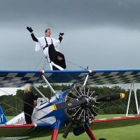 Wing-walking vicar John Horan