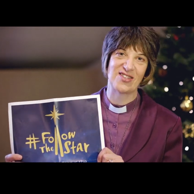 Bishop Rachel Treweek encourages churches to get involved with FollowTheStar this Christmas