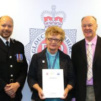 Impact award for one of Gloucestershire's first police chaplains